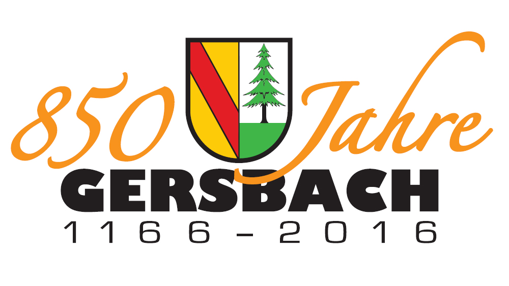 Logo 850 Jahre Gersbach