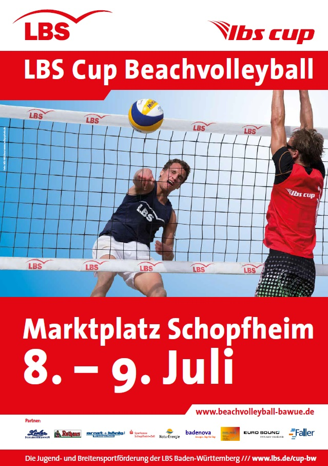 Beachvolleyball 2017 - Plakat