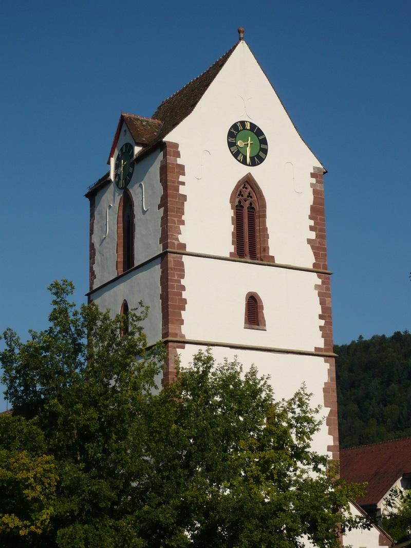 Kirche St. Michael in der Altstadt von Schopfheim