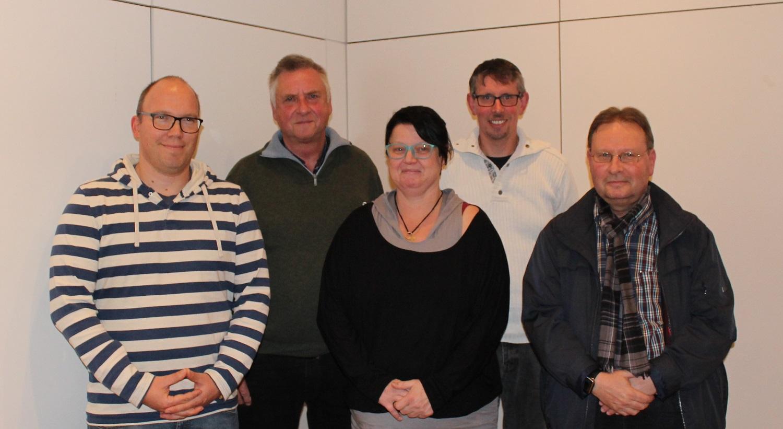 Hans-Jörg Tichelmann, Joachim Sprakties, Kornelia Materer, Oliver Kröning, Bernd Bauknecht