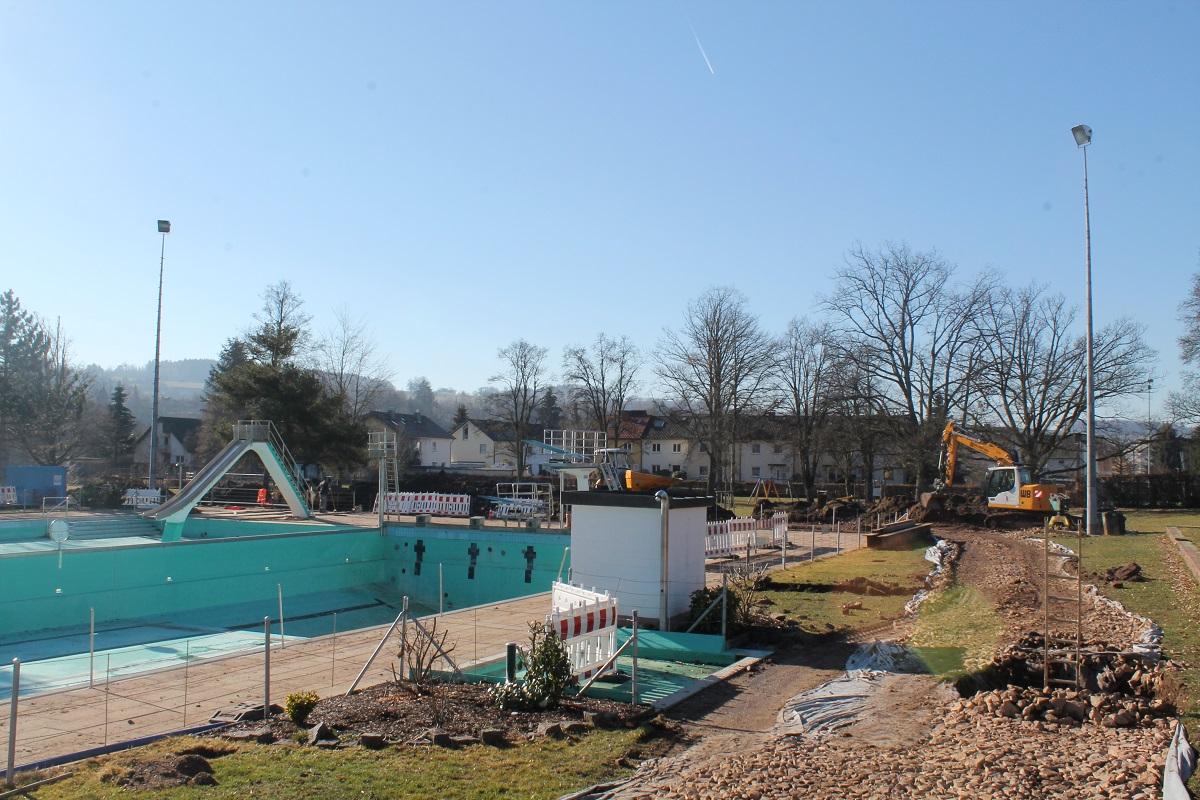 Sanierung des Schwimmbades Schopfheim im Zeitplan
