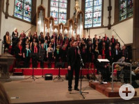 Gospelchor in der evang. Stadtkirche Schopfheim (c) Evang. Kirchenbezirk Markgräflerland, Region Schopfheim