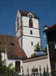 Altstadtbild - St. Michaels Kirche (c) Stadt Schopfhem