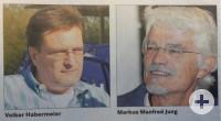 Volker Habermeier und Markus Manfred Jung (c) Badische Zeitung