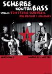 Scherbenkontrabass (c) Marius del Mestre und Akki Schulz