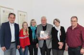 Bürgermeister Dirk Harscher, Miriam Faller, Silvia Fricker, Hans Moser, Bettina Bethlen, Jens Hagist