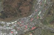 Satellitenaufnahme der Standorte der Seniorenbanke im Stadtgebiet Schopfheim