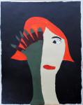 """Ausstellung FRIDA """"Frau mit Hand"""" (c) Atelier Frida"""