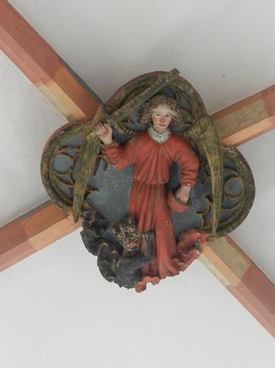 Michael Wappen in der Kirche St. Michael (c) A. Lohse