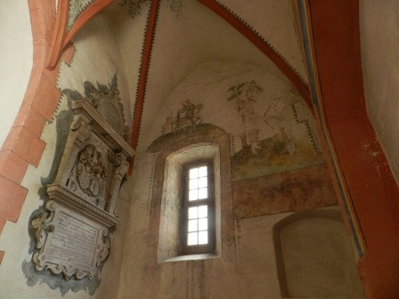 Wandmalerei (West) in der Kirche St. Michael (c) A. Lohse