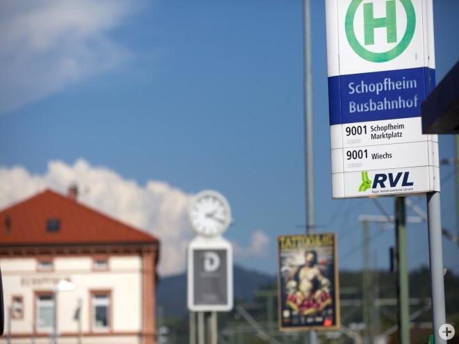 Busbahnhof Schopfheim