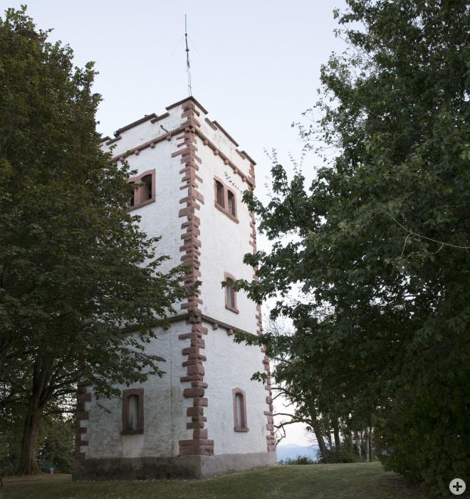 Der Hohe Flum Turm in Wiechs