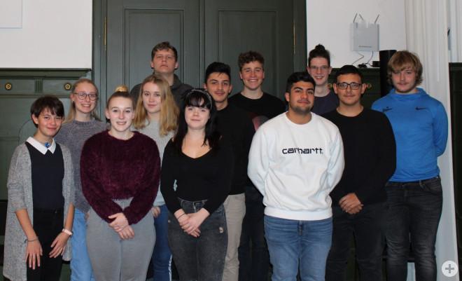 Mitgliederfoto des Jugendparlaments 2019