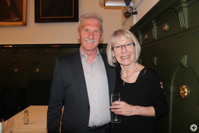 Dieter Henrich und Silvia Fricker