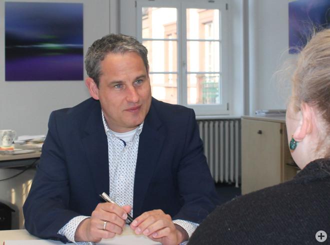 Bürgersprechstunde mit Bürgermeister Dirk Harscher