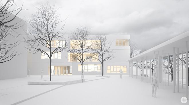 Der zukünftige Innenhof