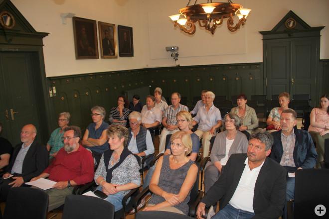 Vorstellung des Leitbildes im Schopfheimer Rathaussaal