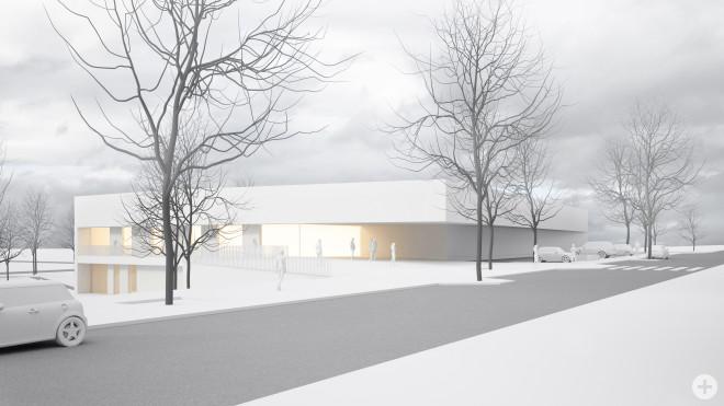 Die neue Friedrich-Ebert Sporthalle