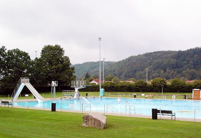 Das Freizeitbad in Schopfheim