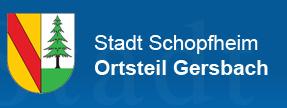 Logo der Stadt Schopfheim | Ortsteil Gersbach